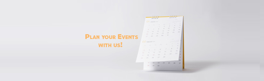 Plan your events with us Pakistan