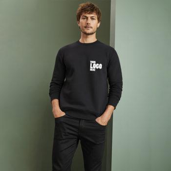 Bulk Wholesale Black Sweatshirt with your company logo in Pakistan