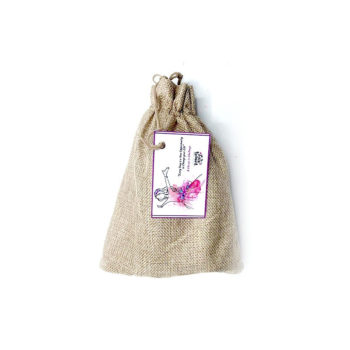 Jute travelling Pouch