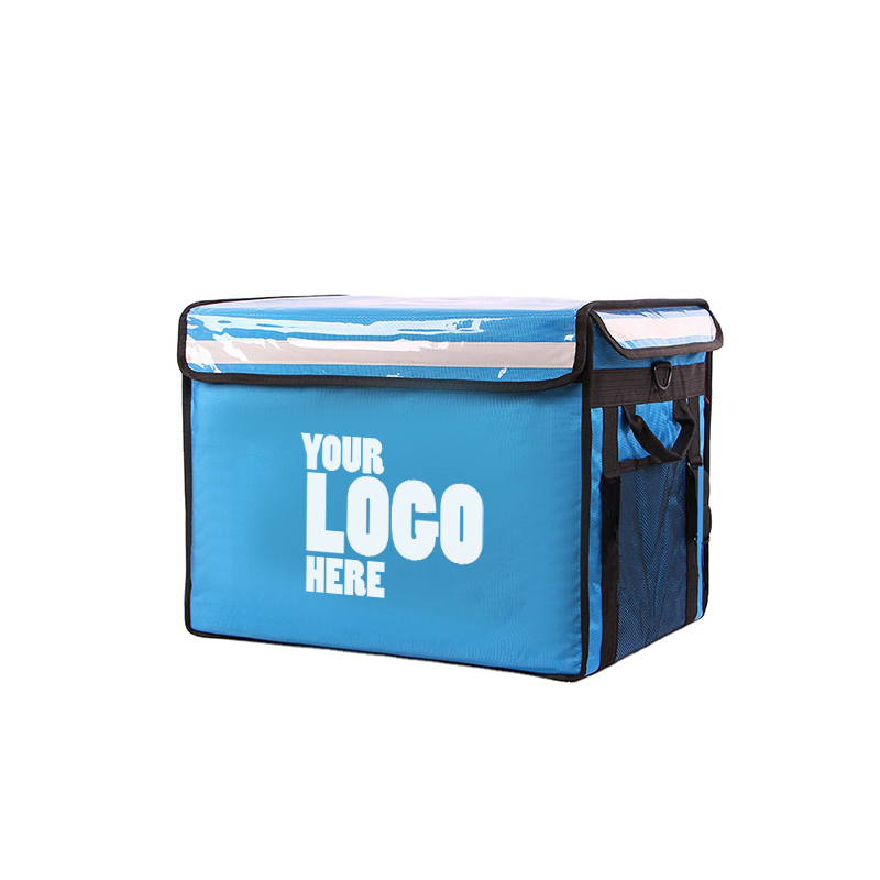 Blue Delivery Bag with your company logo