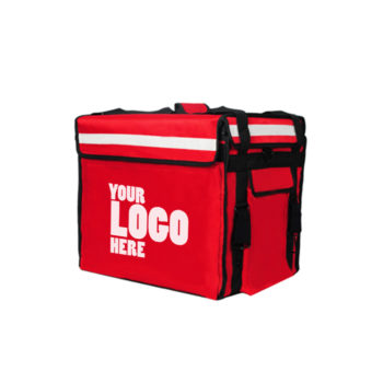 Red Delivery Bag with your company logo