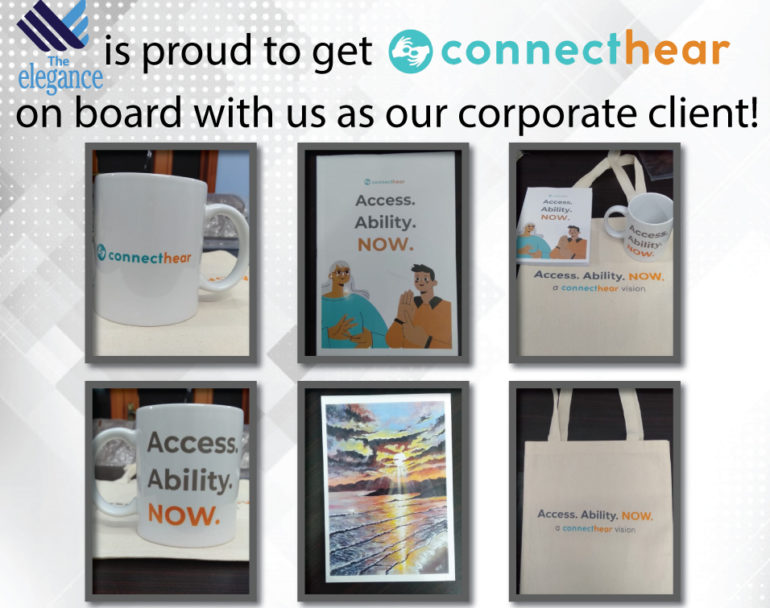 Connect Hear Corporate Gift