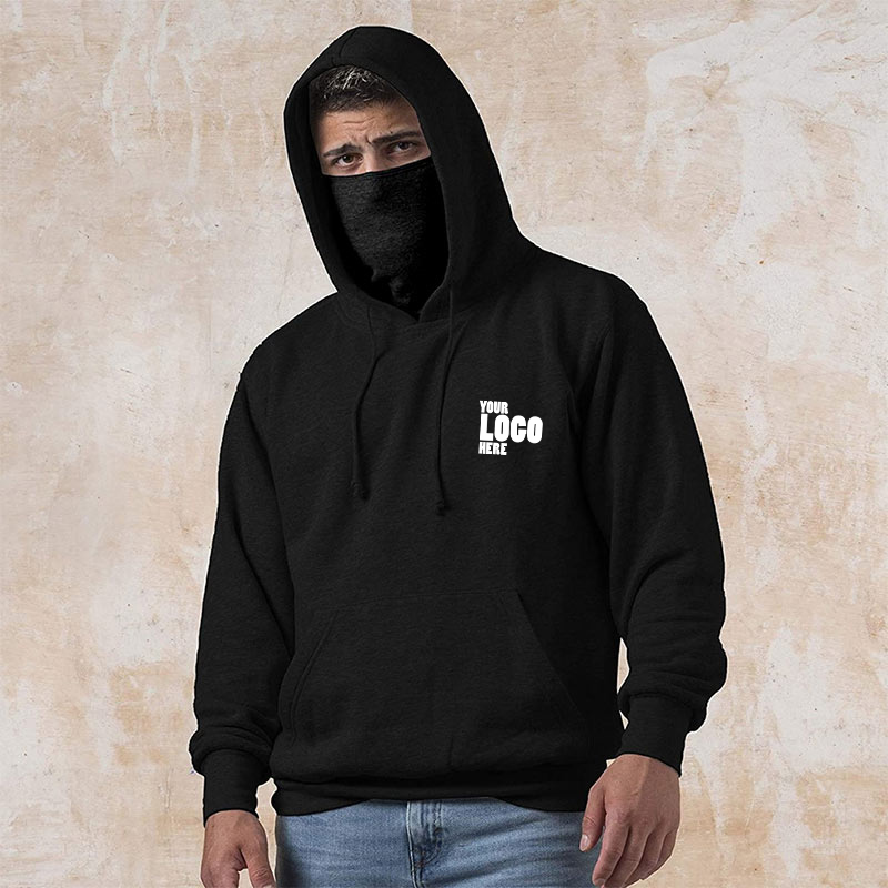 Branded Hoodie with Mask Your Company Logo