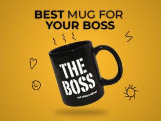 World's Best Boss Mug: