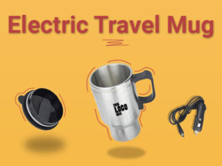 Electric Travel Mug - Best Gift for the Travelers!